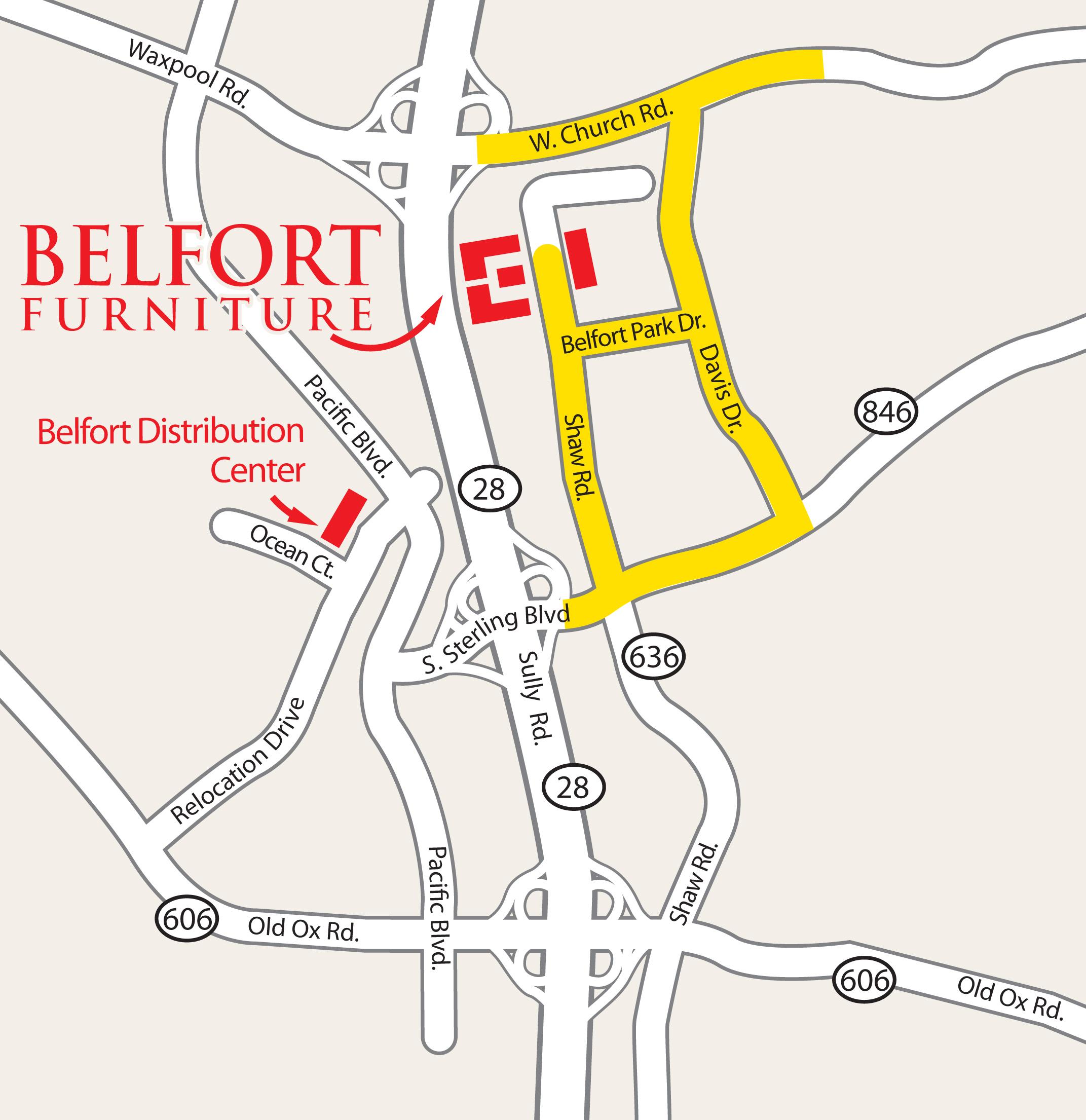 Dulles Sterling Va Furniture Mattress Store Belfort Furniture